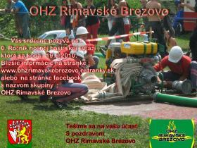 0.ročník Nočnej hasičskej súťaže v Rimavskom Brezove