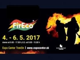 FIRECO 13. ročník medzinárodnej výstavy hasičskej, záchranárskej a zabezpečovacej techniky.