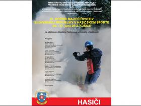 XXXXI. Majstrovstva SR v hasičskom športe