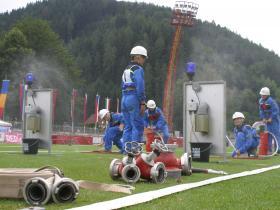 Medzinárodná súťaž mladých hasičov v Pobedime